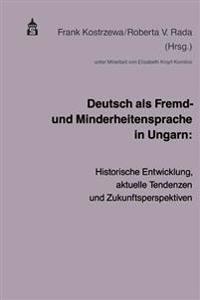 Deutsch als Fremd- und Minderheitensprache in Ungarn