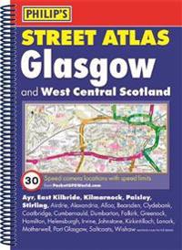 Philips street atlas glasgow and west central scotland