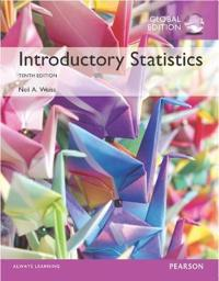 Introductory Statistics with MyStatLab, Global Edition