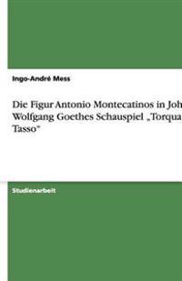 """Die Figur Antonio Montecatinos in Johann Wolfgang Goethes Schauspiel """"Torquato Tasso"""""""