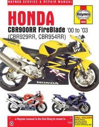 Honda Cbr900rr Fireblade '00 - '03: (cbr929rr, Cbr954rr)