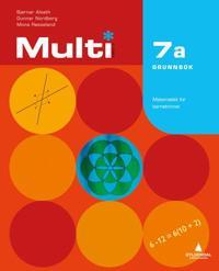 Multi 7a, 2. utgave - Bjørnar Alseth, Gunnar Nordberg, Mona Røsseland | Inprintwriters.org