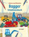 Bagger Schablonenbuch