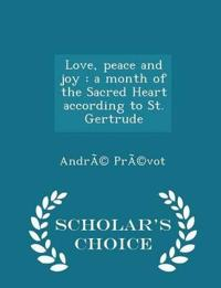 Love, Peace and Joy