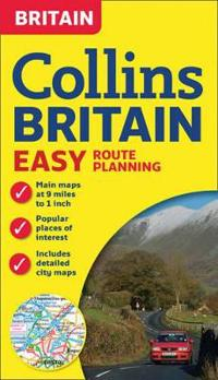 Collins Britain Easy Route Planning Map