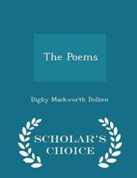 The Poems - Scholar's Choice Edition
