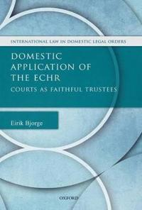 Domestic Application of the ECHR
