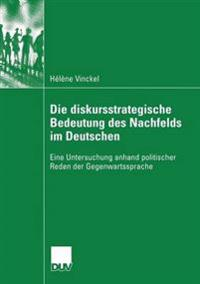 Die Diskursstrategische Bedeutung Des Nachfelds Im Deutschen