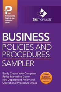 Business Policies and Procedures Sampler