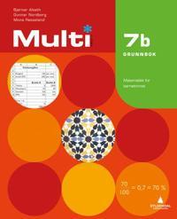 Multi 7b, 2. utgave - Bjørnar Alseth, Gunnar Nordberg, Mona Røsseland pdf epub