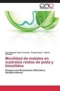 Movilidad de Metales En Sustratos Restos de Poda y Biosolidos