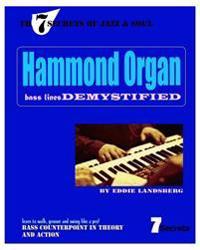 Hammond Organ Bass Lines Demystified