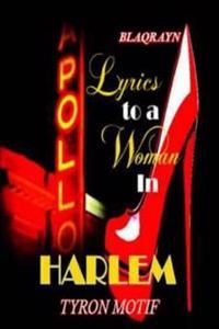 Lyrics to a Woman in Harlem