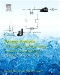 Exergy Analysis of Heating, Refrigerating and Air Conditioning