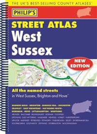 Philips street atlas west sussex