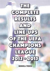 Complete results and line-ups of the uefa champions league 2012-2015