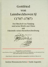 Gottfried Von Laimbeckhoven S.j.