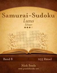 Samurai-Sudoku Luxus - Schwer - Band 8 - 255 Ratsel