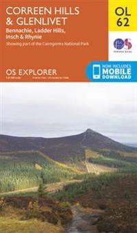 Correen Hills & Glenlivet, Bennachie & Ladder Hills, Insch & Rhynie