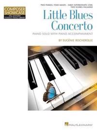 Little Blues Concerto: Hlspl Composer Showcase Two Pianos, Four Hands Early Intermediate Level