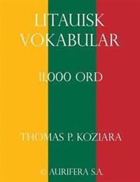 Litauisk Vokabular