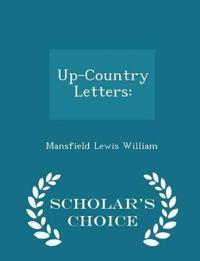 Up-Country Letters