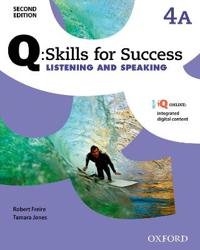 Q Skills for Success: Level 4: Listening & Speaking Split Student Book A with iQ Online