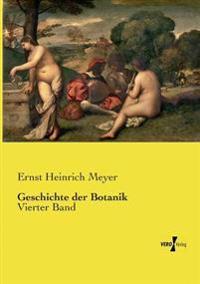 Geschichte Der Botanik