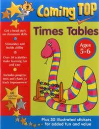 Coming Top - Times Tables, Ages 5-6