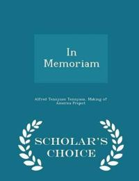 In Memoriam - Scholar's Choice Edition
