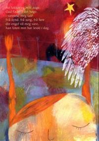 Nå lukker seg mitt øye. Tekst av Peter Thun Foersom. 4-fargers plakat i A4-størrelse med kveldsbønn for barn -  pdf epub