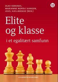 Elite og klasse i et egalitært samfunn