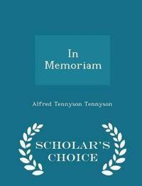 In Memoriam - Scholar's Choice Edition