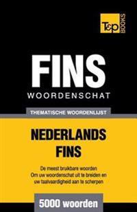 Thematische Woordenschat Nederlands-Fins - 5000 Woorden