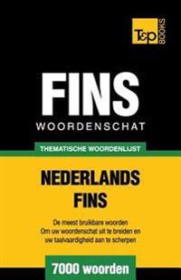 Thematische Woordenschat Nederlands-Fins - 7000 Woorden