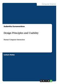 Design Principles and Usability