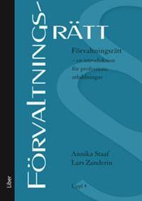 Förvaltningsrätt : en introduktion för professionsutbildningar