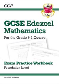 New GCSE Maths Edexcel Exam Practice Workbook: Foundation - For the Grade 9-1Course (with Answers)