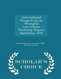 International Perspectives on Wrongful Convictions