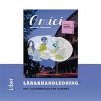 Amici Lärarhandledning cd - Italienska för nybörjare