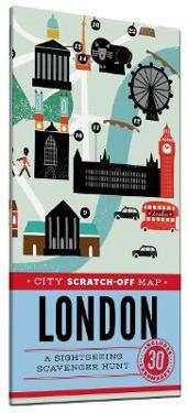City Scratch-off Map London
