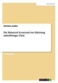 Die Balanced Scorecard Zur Ableitung Mittelfristiger Ziele