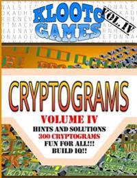 Klooto Games Cryptograms Vol. IV