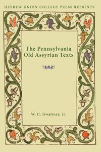 The Pennsylvania Old Assyrian Texts