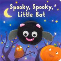 Spooky, Spooky, Little Bat Finger Puppet Book