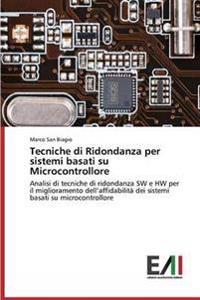 Tecniche Di Ridondanza Per Sistemi Basati Su Microcontrollore