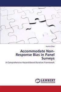 Accommodate Non-Response Bias in Panel Surveys