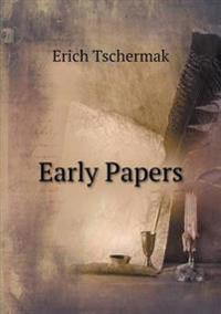 Early Papers