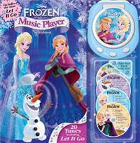 Disney Frozen Music Player Storybook [With 4 Audio CDs]