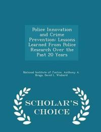 Police Innovation and Crime Prevention